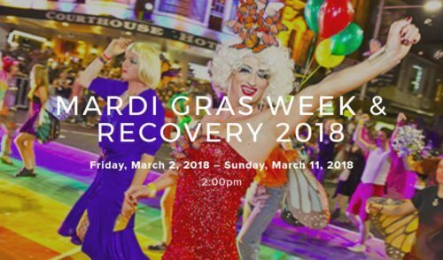 Mardi Gras Week & Recovery 2018 – 2 to 11 March 2018 – Turtle Cove – Queensland